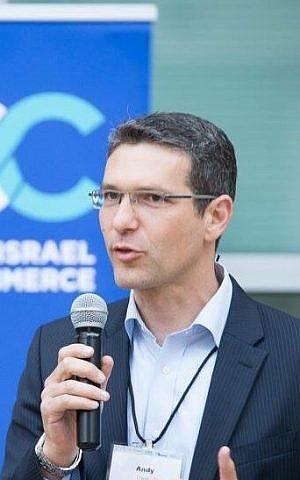 Andy David, el director de Innovación, emprendimiento y Tecnología en (Cortesía del Ministerio de Relaciones Exteriores)