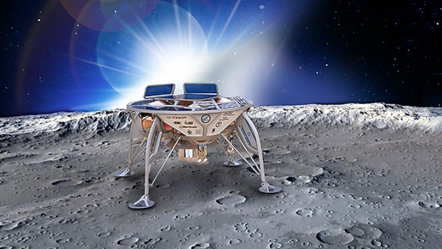 Bereshit, la nave espacial israelí lista para ir a la Luna en 2019