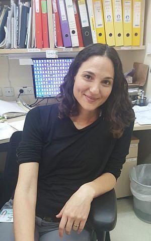 Dr. Efrat Shavit-Stein, neurocientífico del Centro de neurociencia Joseph Sagol, Centro médico Sheba (Cortesía)