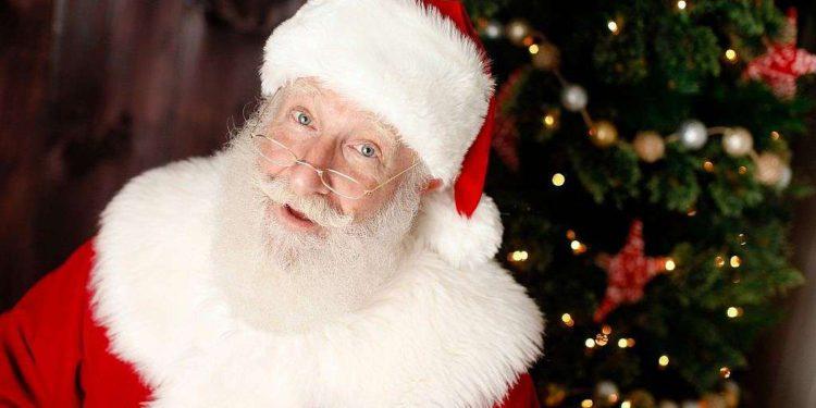 Este Papá Noel es un judío ortodoxo