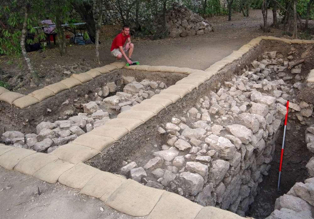 Excavaciones arqueológicas en Kiryat Yearim.Las Excavaciones Familia Shmunis