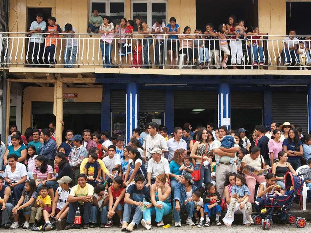Residentes de Puyo, Ecuador. El estudio examinó 6.000 sujetos de México y más al sur. Foto: Maremagnum / Getty Images IL