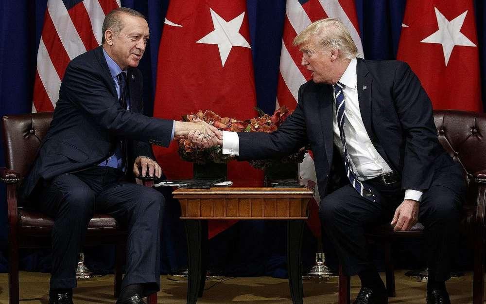 Ankara dice que Trump aceptó la invitación de Erdogan para visitar Turquía