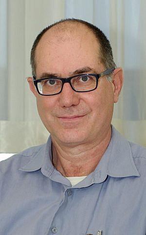 El profesor Yoav Chapman, neurocientífico del Centro de Neurociencia Joseph Sagol, Centro Médico Sheba (Cortesía)