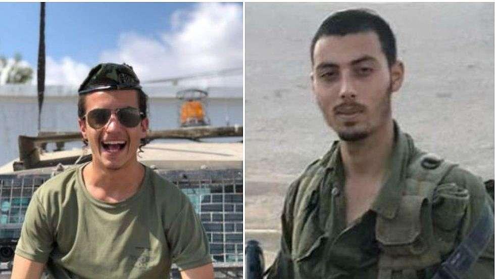 Soldados asesinados en ataque terrorista en Samaria: Yovel Mor Yosef y Yosef Cohen