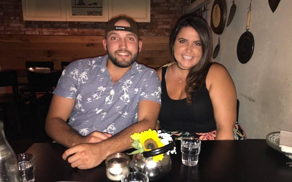 Zachary y su hermana Rebecca Zeff.(Cortesía Rebecca Zeff)