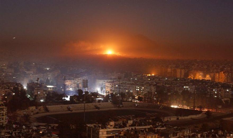 Siria acusa a Israel de atacar Damasco Reuters
