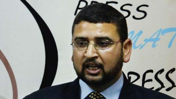 El portavoz de Hamas, Sami Abu Zuhri (AP / Hatem Moussa)