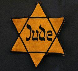 Estrella con la que eran marcados los judíos