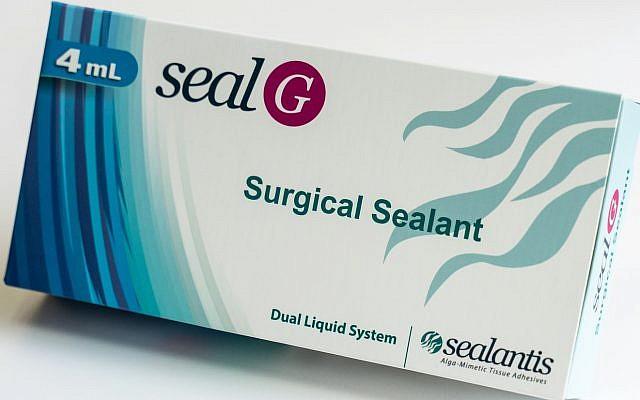 Israel's Sealantis ha desarrollado adhesivos médicos que imitan el proceso que permite que las algas se adhieran a las rocas en el agua (Nitzan Zohar, oficina del portavoz de Technion)