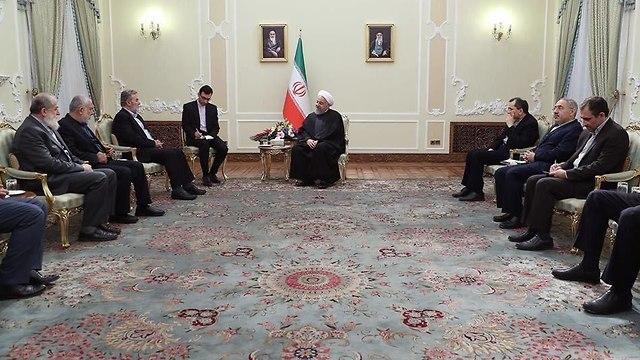 Ziad Nakhala se encuentra con Khamenei