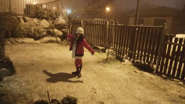 Nieve en Jerusalén, 16 de enero de 2019.