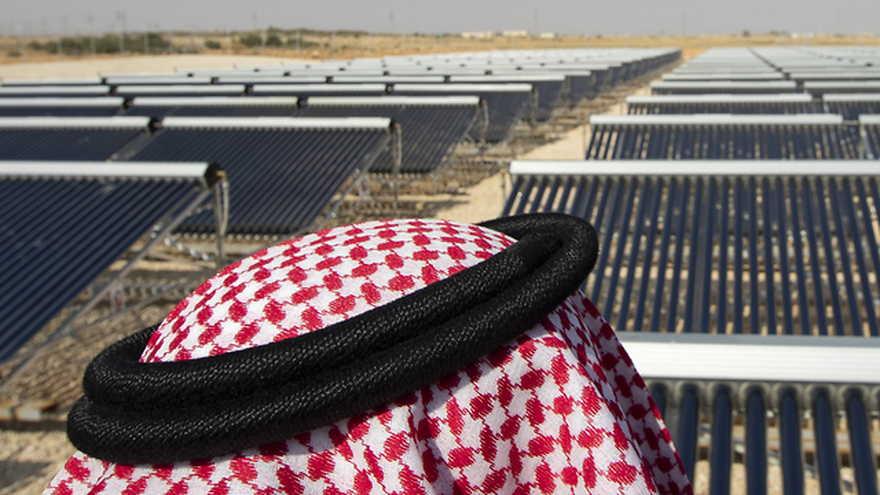 El 'Proyecto de Aldea Solar' en Riyadh, Arabia Saudita (Foto: EPA)