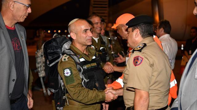 La delegación israelí en Brasil (Foto: Unidad de Portavoces de las FDI)