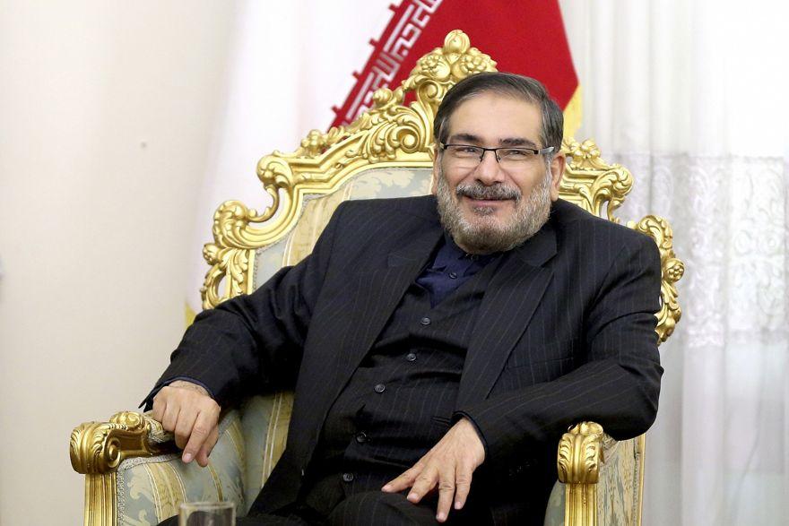 El secretario del Consejo Supremo de Seguridad Nacional de Irán, Ali Shamkhani, en Teherán, Irán, 17 de enero de 2017. (Ebrahim Noroozi / AP)