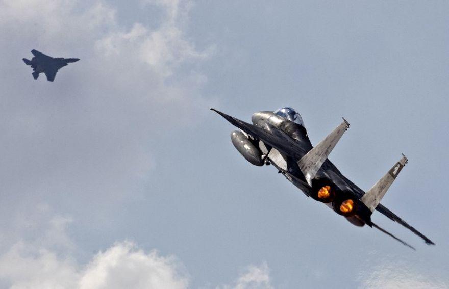 Un caza F-15 de Israel perdió su cúpula en pleno vuelo a 30 mil pies