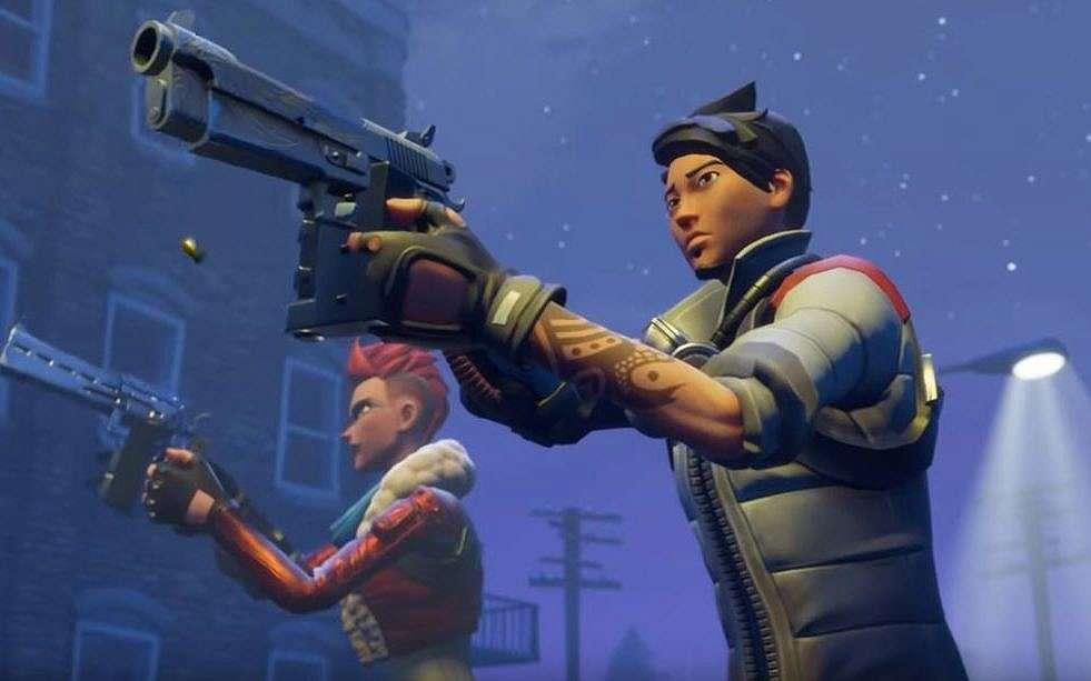 Una ilustración del juego Fortnite desarrollado por Epic Games, un desarrollador de videojuegos de EE. UU. (Captura de pantalla de YouTube)