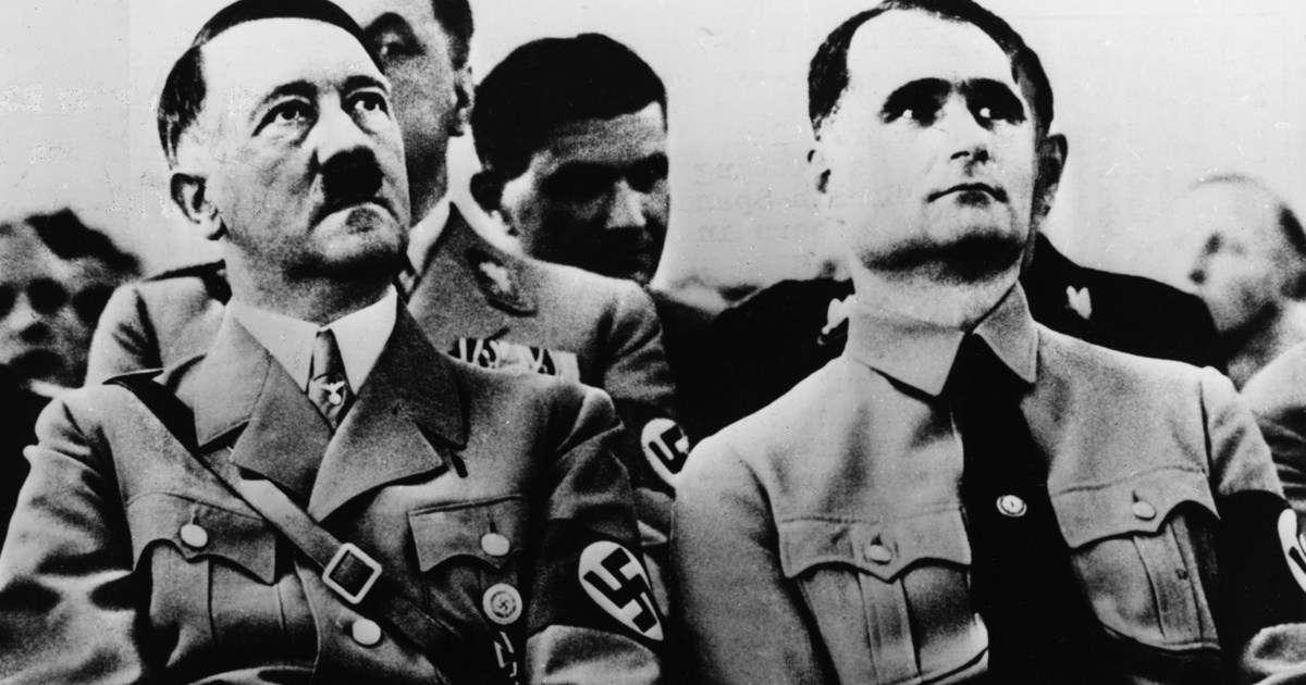 Hitler y Rudolf Hess, su adjunto(Foto: Getty Images)