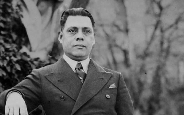 Un retrato de José Arturo Castellanos en la Italia de los años treinta. (Cortesía de René Boehm a través de Alvaro y Boris Castellanos)
