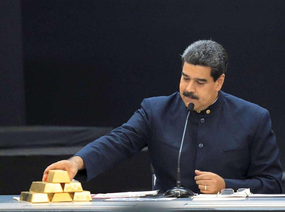 Venezuela extrae 8 toneladas de oro del banco central