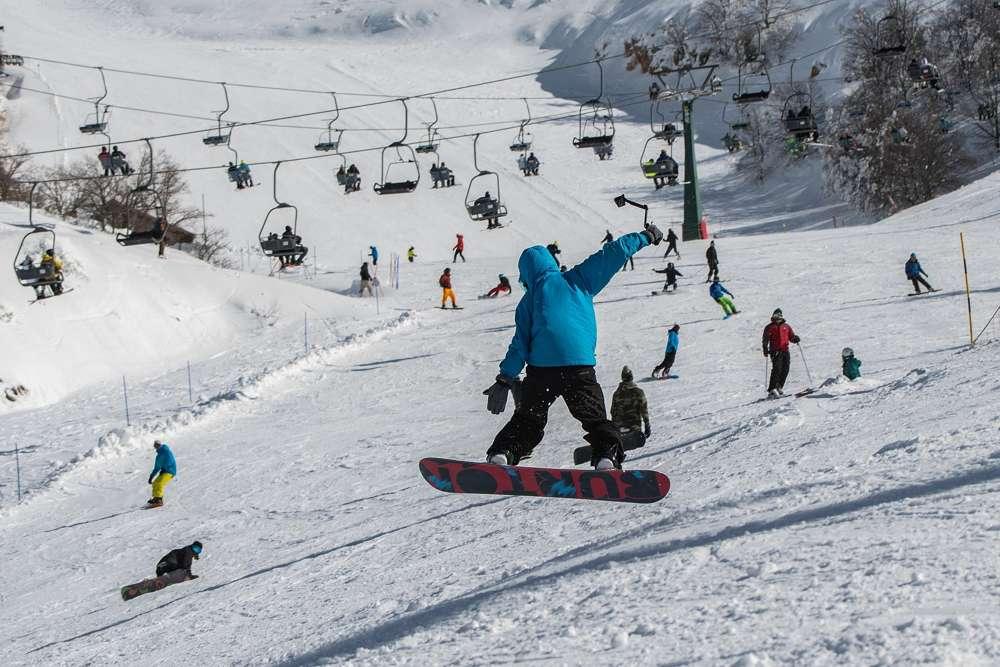 Israel cierra el sitio de esquí de Hermon ante posible venganza de Irán