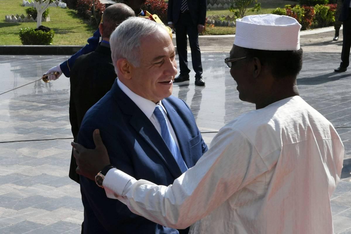 Israel y Chad renuevan los lazos diplomáticos que se rompieron en 1972