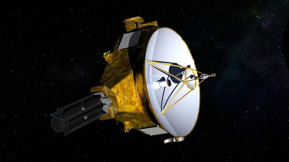 Esta ilustración proporcionada por la NASA muestra la nave espacial New Horizons.(NASA / JHUAPL / SwRI a través de AP)