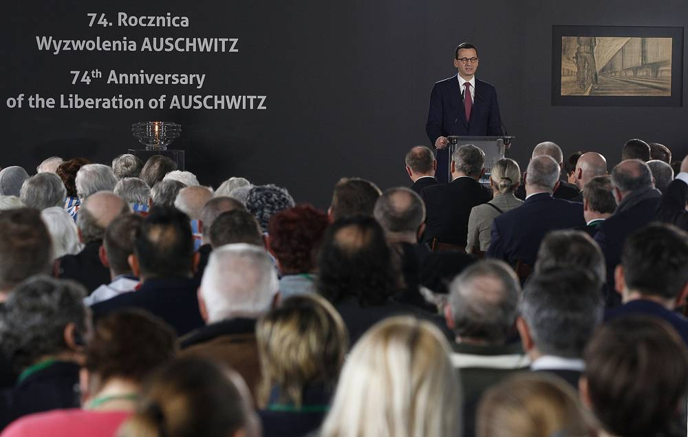 Primer Ministro de Polonia: Alemania de Hitler responsable del Holocausto, no los nazis