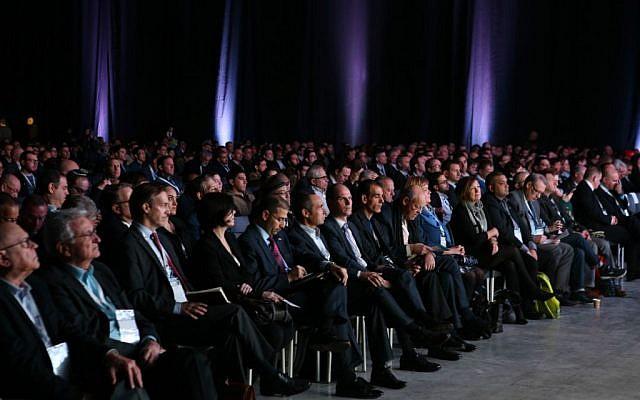 Participantes en la conferencia CyberTech 2016 de Israel (Cortesía: Gilad Kavalerchik)