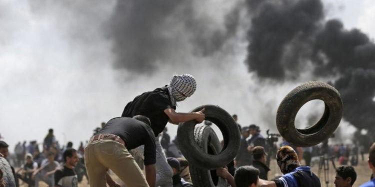 Israel permitirá el ingreso de neumáticos a la Franja de Gaza