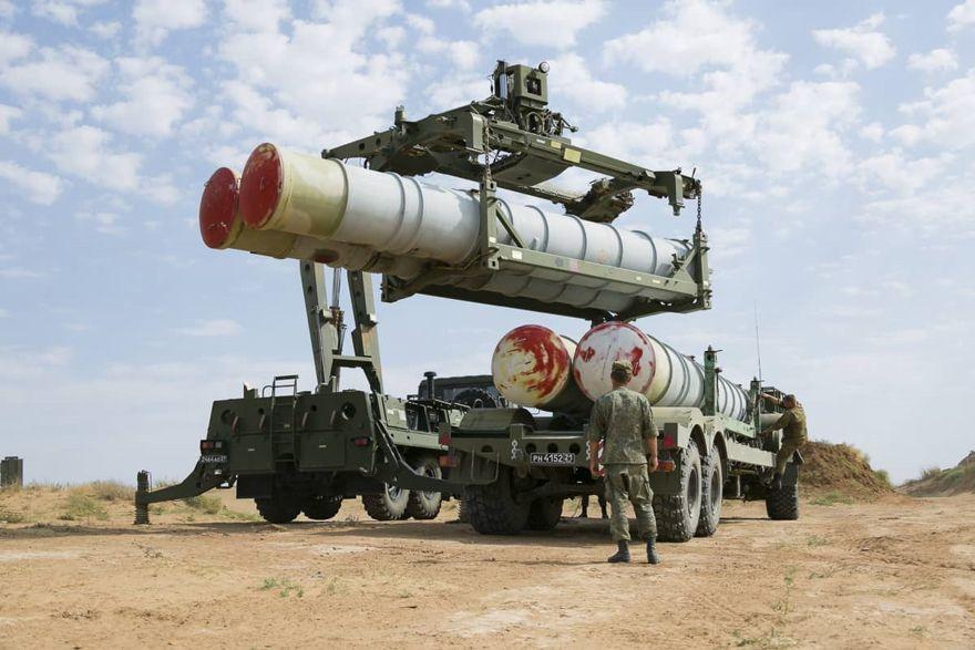 misiles S-400 de fabricación rusa