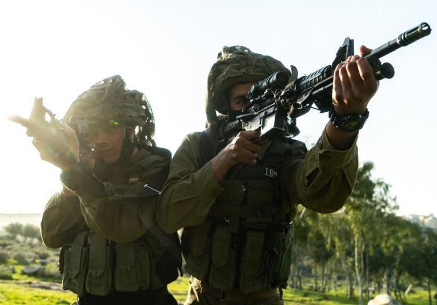 Juegos de guerra de las FDI en el norte que simulan un conflicto con hezbollah. (Crédito de la foto: IDF SPOKESMAN'S UNIT)