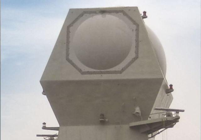 El Radar Digital Multifunción MF-STAR. Crédito: Israel Industrias Aeroespaciales