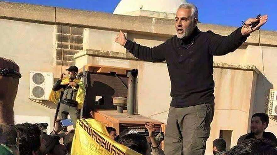 General iraní Qassem Soleimani en Idlib, Siria