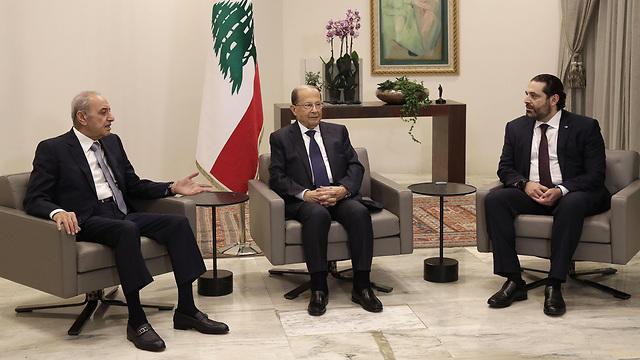 Presidente Aoun, PM Hariri