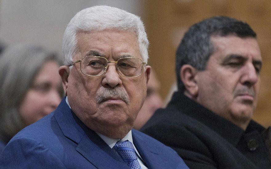 El presidente de la Autoridad Palestina, Mahmoud Abbas, en la ciudad de Belén, Judea y Samaria, el 25 de diciembre de 2018. (AP Foto / Nasser Nasser)
