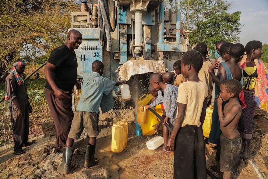 Agua del subsuelo en África