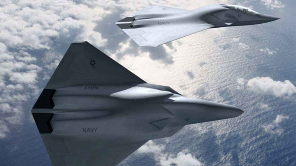 Representación artística de un caza de sexta generación (Boeing)Representación artística de un caza de sexta generación (Boeing)