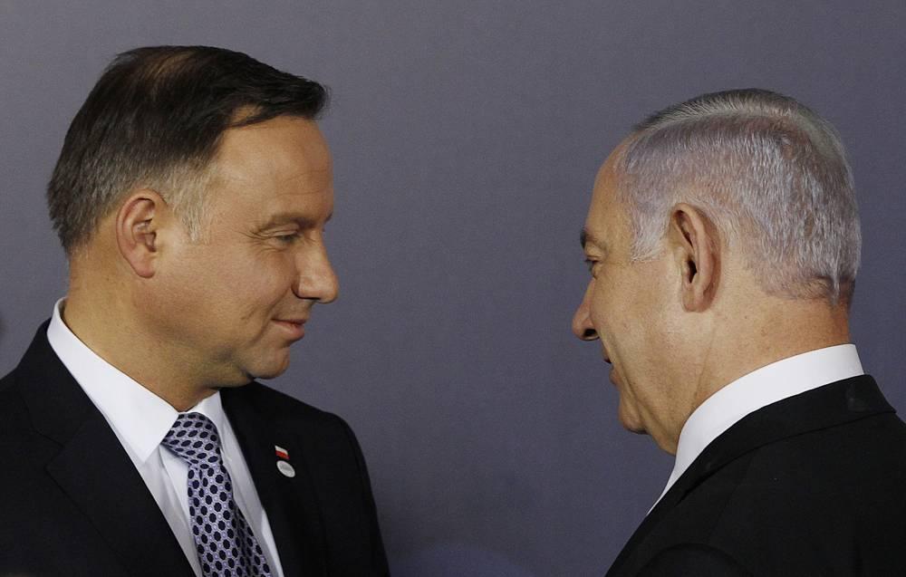 Polonia dice que Israel no debería ser anfitrión de la cumbre de Europa