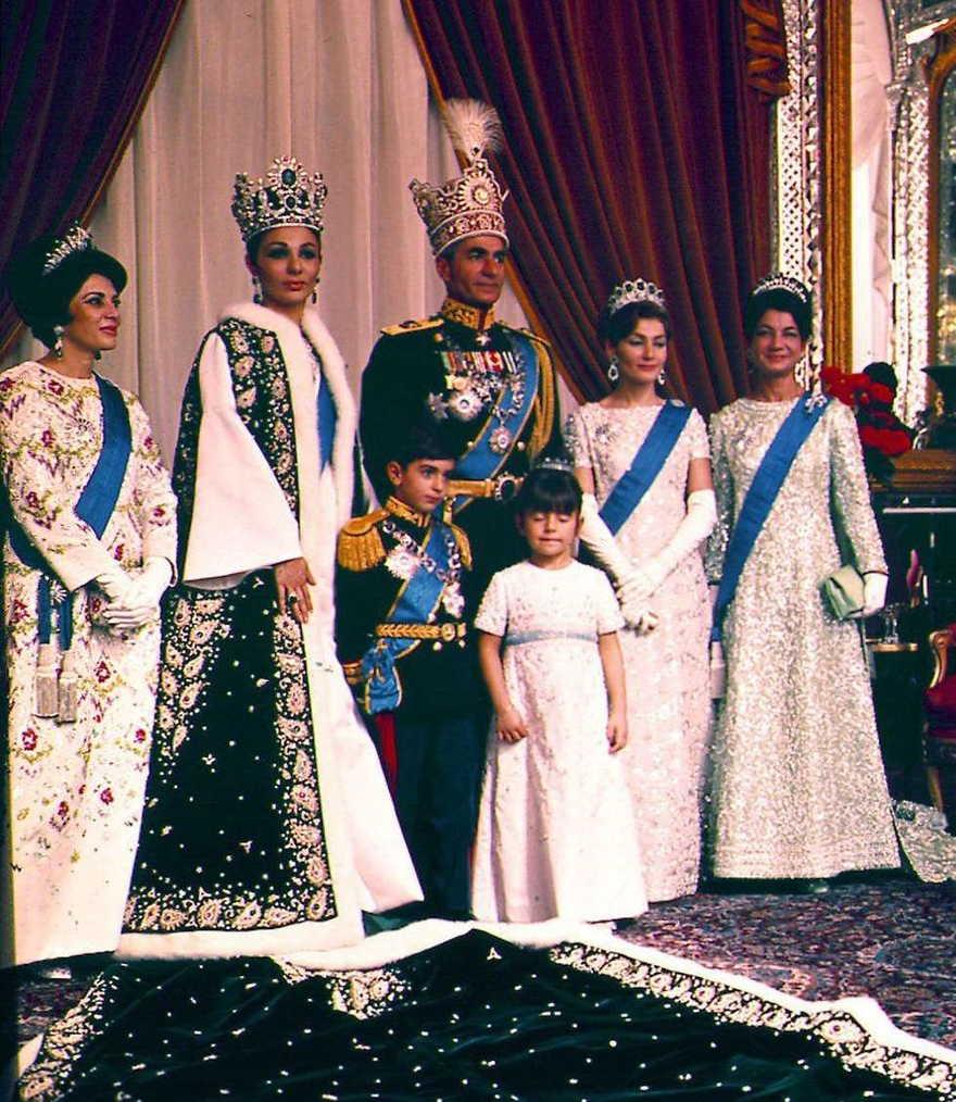Familia real Irán