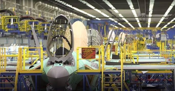 Informe especial: Dentro de la fábrica del F-35: donde comienza el sigilo