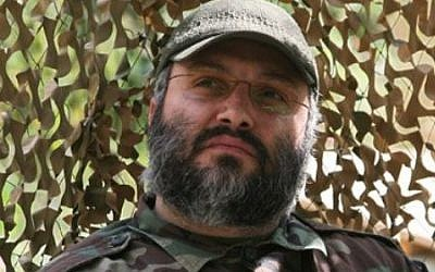 Imad Mughniyeh de Hezbolá, quien fue asesinado en 2008. (CC BY-SA, Wikimedia Commons)