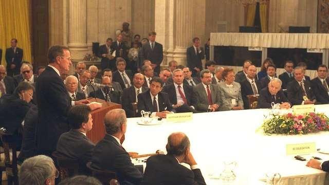 La Conferencia de Madrid de 1991(Foto: Moshe Milner)