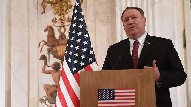 El secretario de Estado estadounidense, Mike Pompeo, en Varsovia(Foto: AFP)