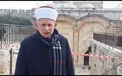 Sheikh Abdelazeem Salhab captura de pantalla a través de YouTube