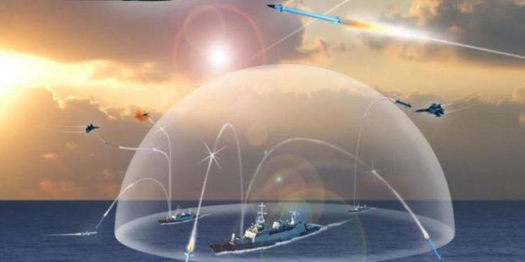 Sistema ilustrativo de Barak 8. (Crédito de la foto: ISRAEL AEROSPACE INDUSTRIES)