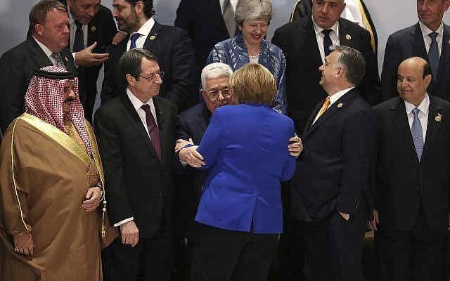 """Abbas insta a los países europeos a reconocer el """"Estado de Palestina"""" 1"""