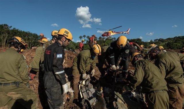 Delegación de ayuda de las FDI a Brasil