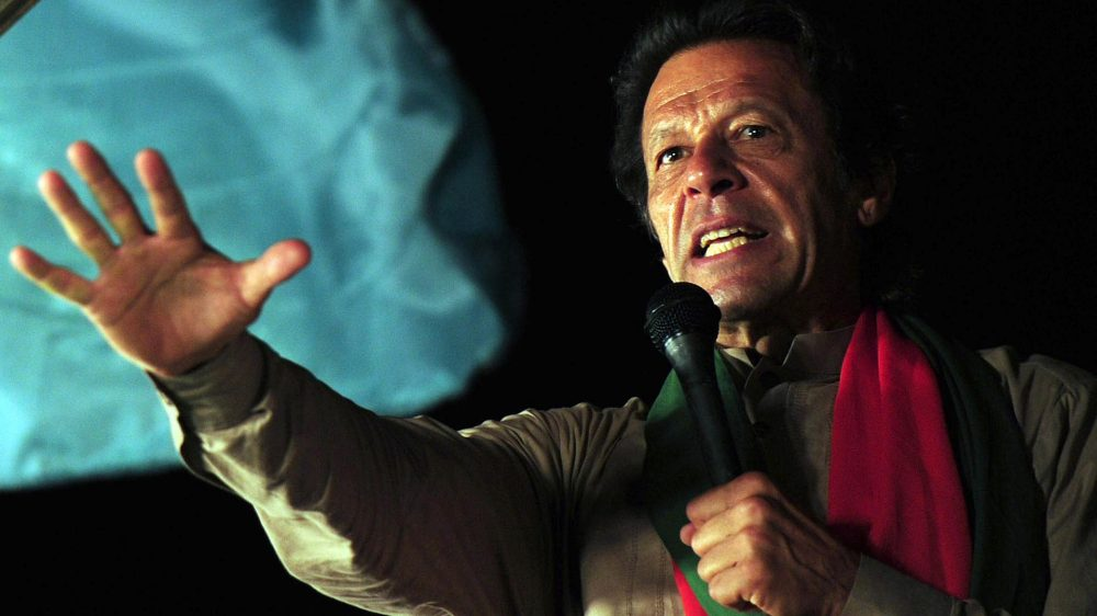 Imra Khan, actual primer ministro de Pakistán (AFP)