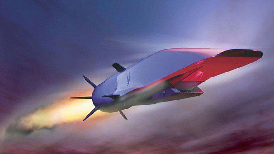 Representación del misil hipersónico ruso 3M22 Zircon, en desarrollo (@EpicentrumMagz)
